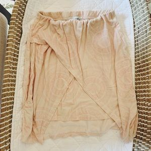 SABO SKIRT • blush pink mini skirt